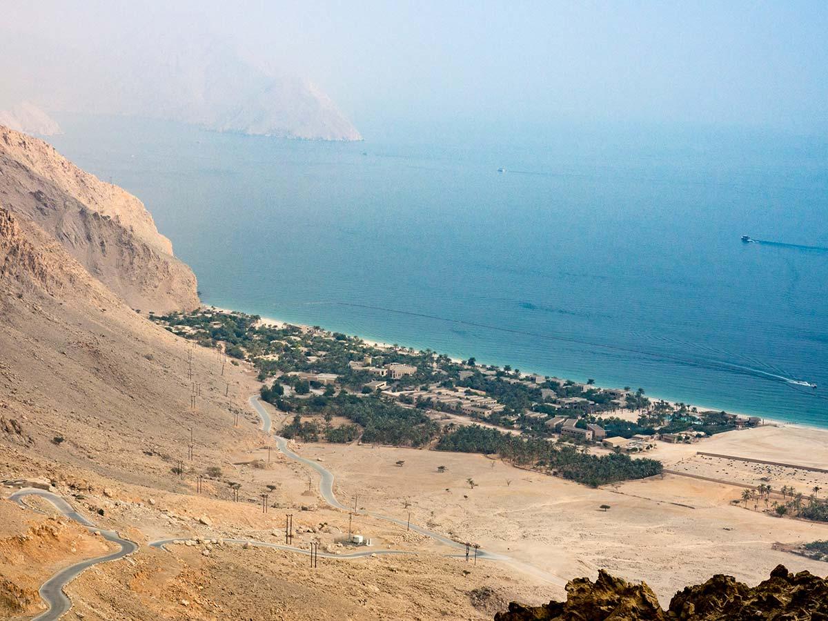 Six Senses Zighy Bay mitten in den Bergen des Omans