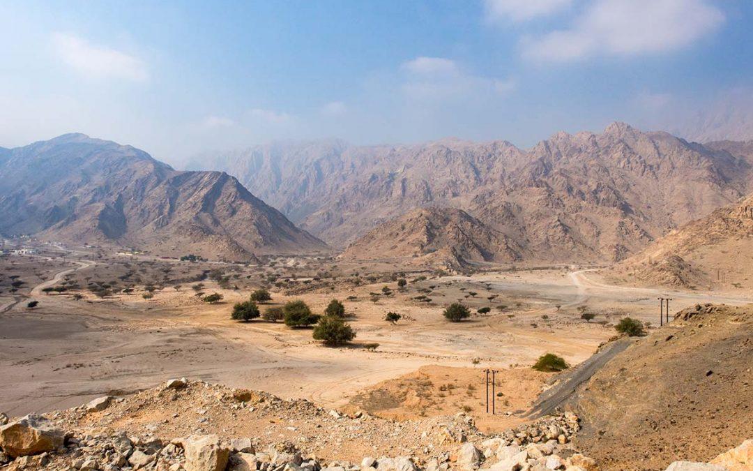 Bergtour in den Oman