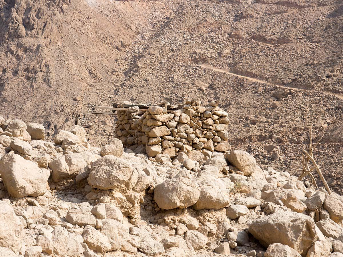 Vorratsspeicher der Bergbauern im Oman