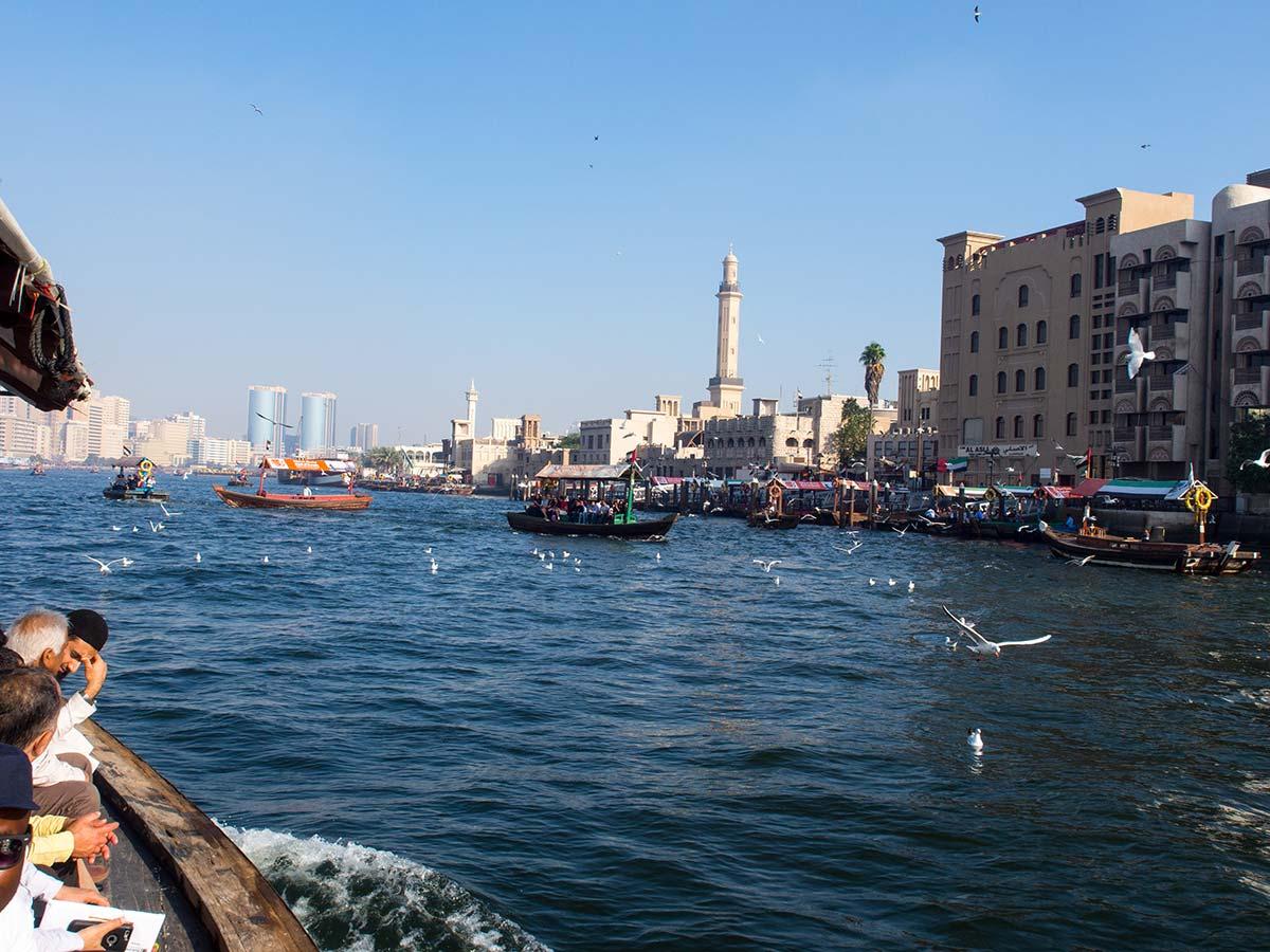 Überfahrt zum Gold Souk Dubai mit traditionellen Abras