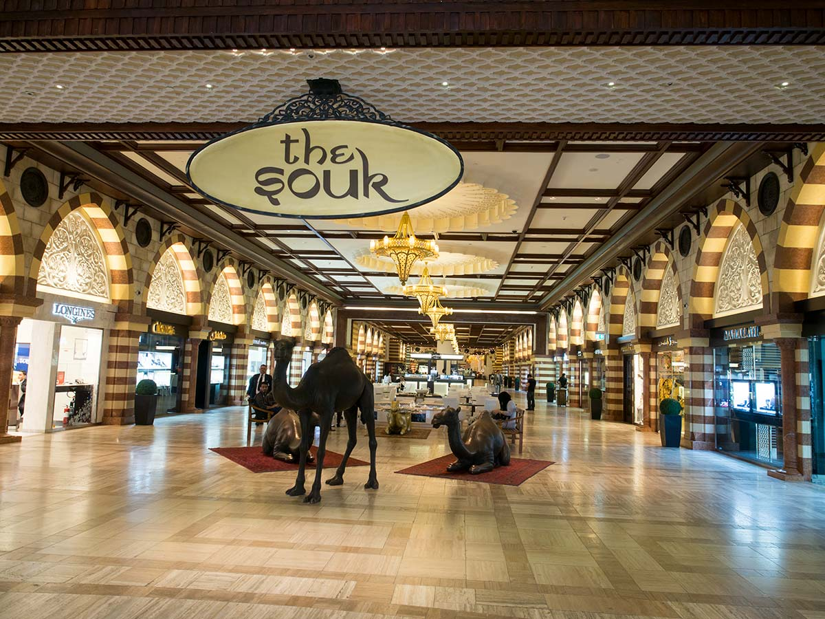 Auch die Dubai Mall hat einen Gold Souk
