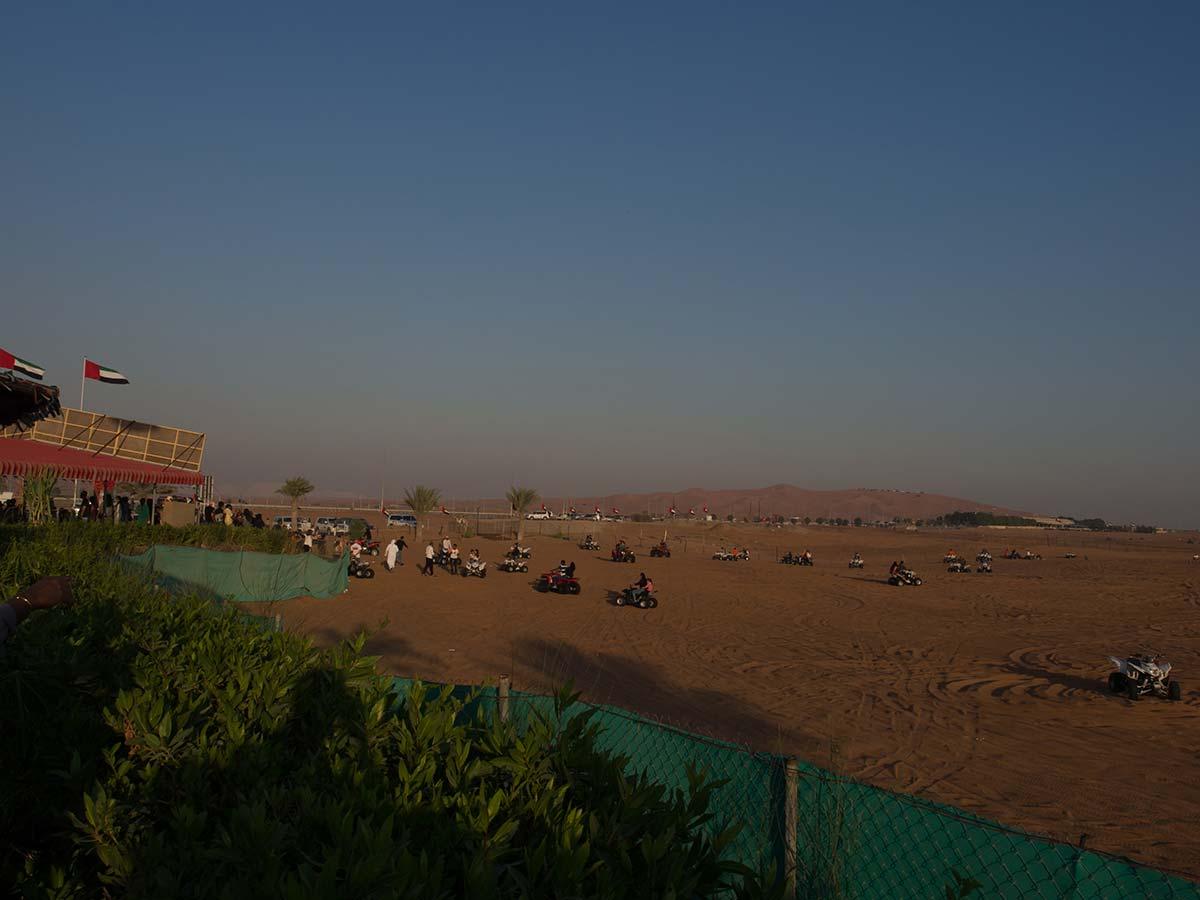 Dubai Wüstensafari Quad fahren