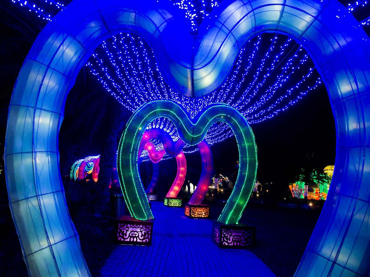 Dubai Garden Glow - Liebestunnel