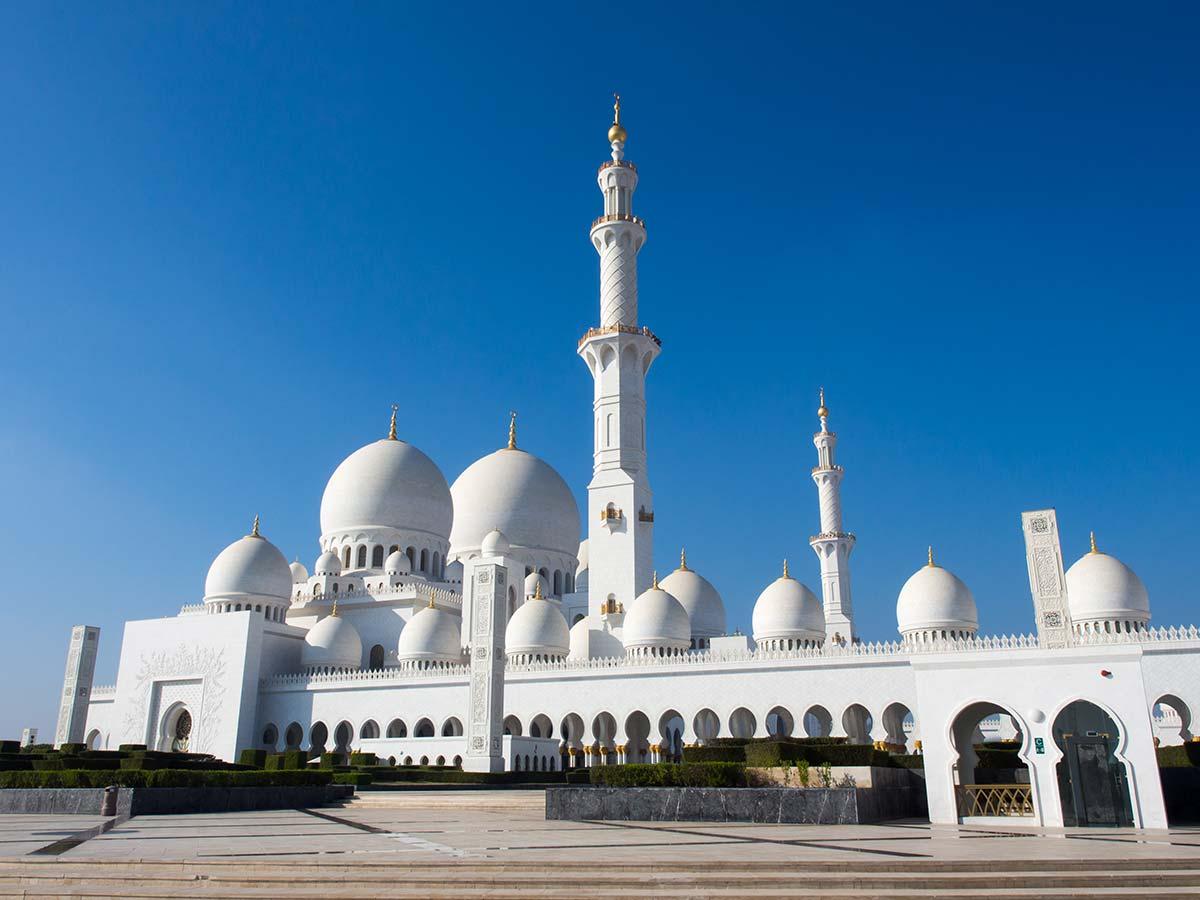 Scheich-Zayid-Moschee von der Südseite