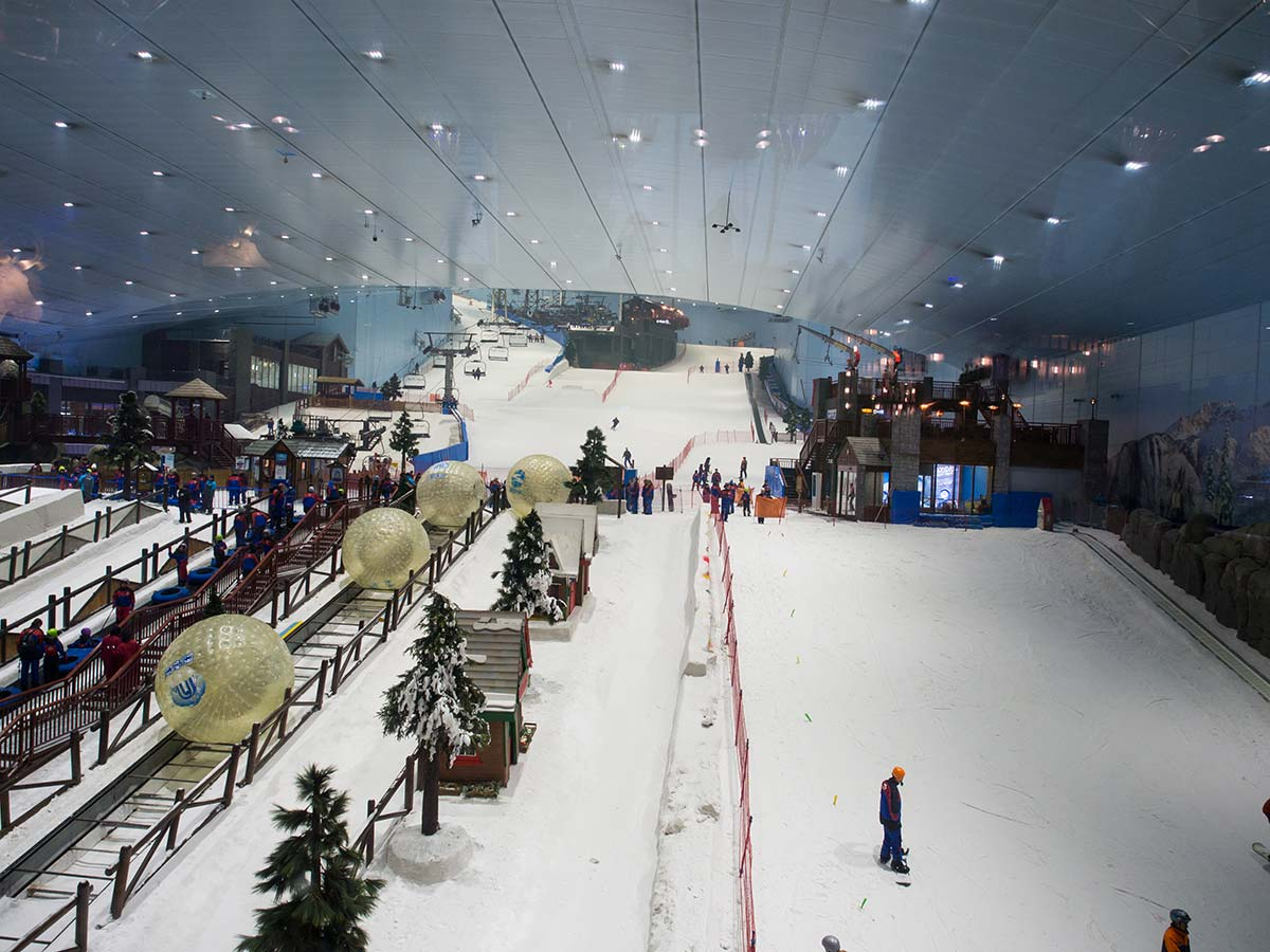 Dubai Ski - Skihalle in der Emirates Mall