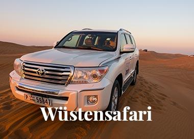 Wüstensafari buchen