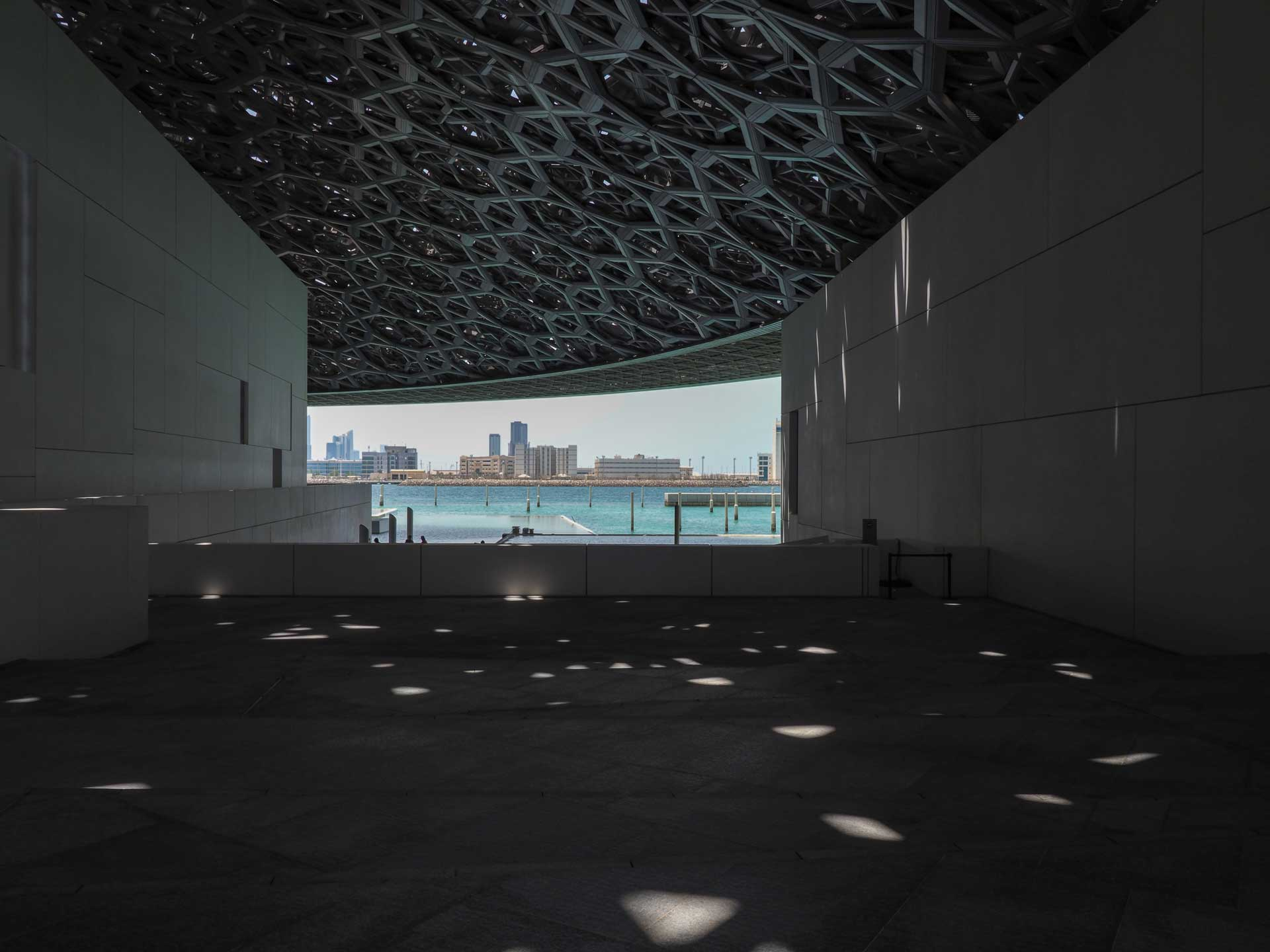 Louvre in Abu Dhabi Architektur