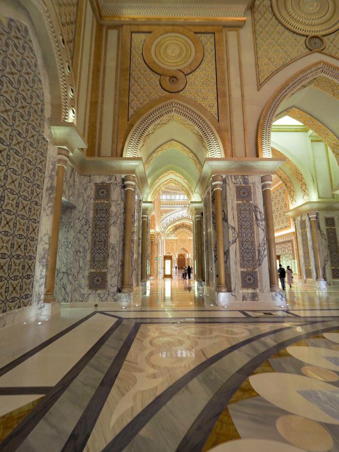 Marmor im Königspalast