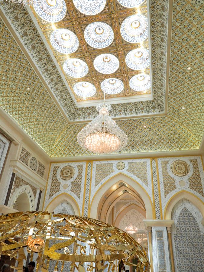 Mosaike im Palast von Abu Dhabi